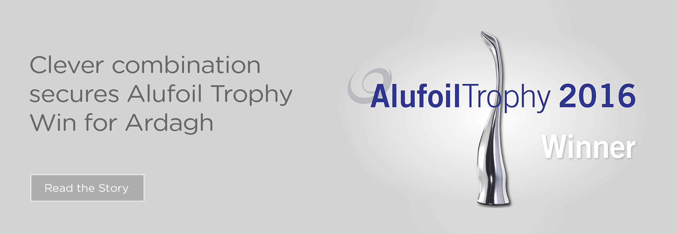 Clever combination secures Alufoil