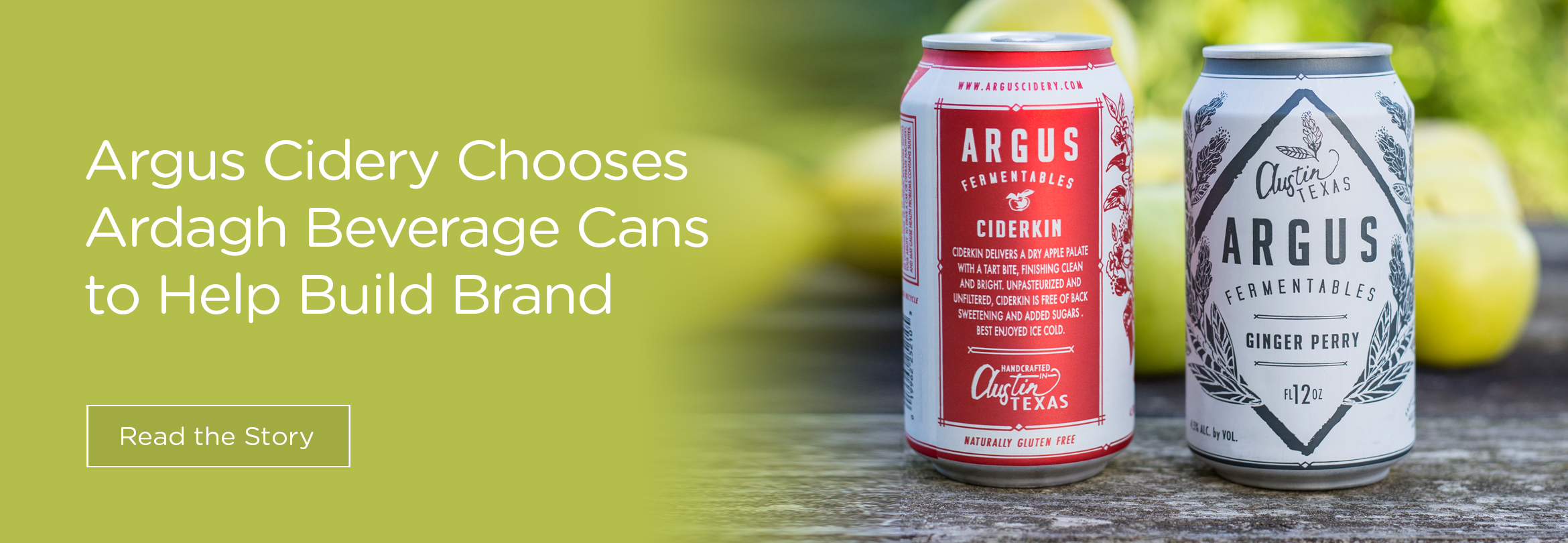 Argus Cidery Choose Ardagh Beverage Cans