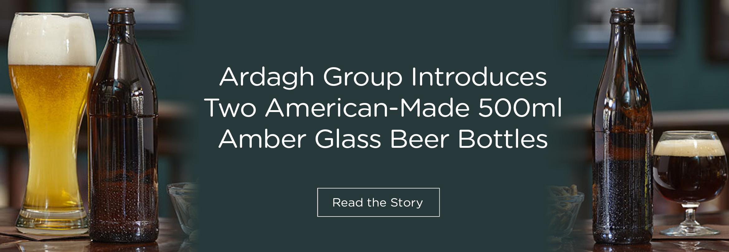 Ardagh Introduces US Made 500ml Beer Bottles
