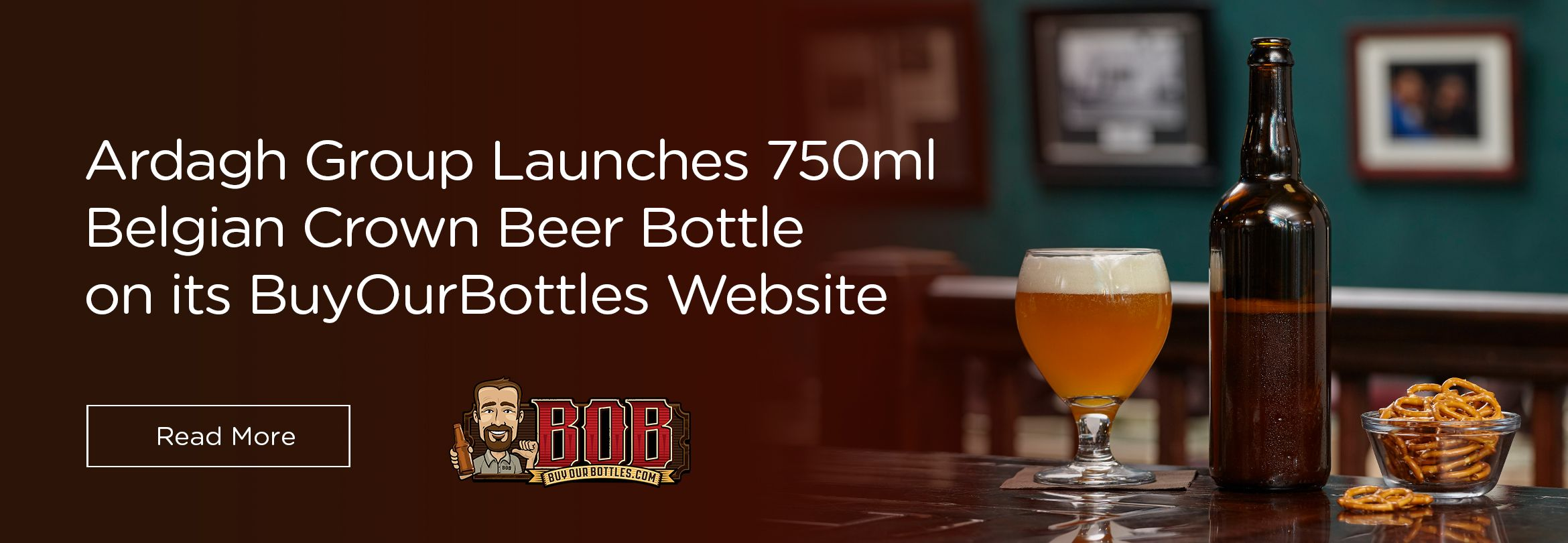 Ardagh Group Launches 750ml Belgian Crown Beer Bottle on BuyOurBottles Website