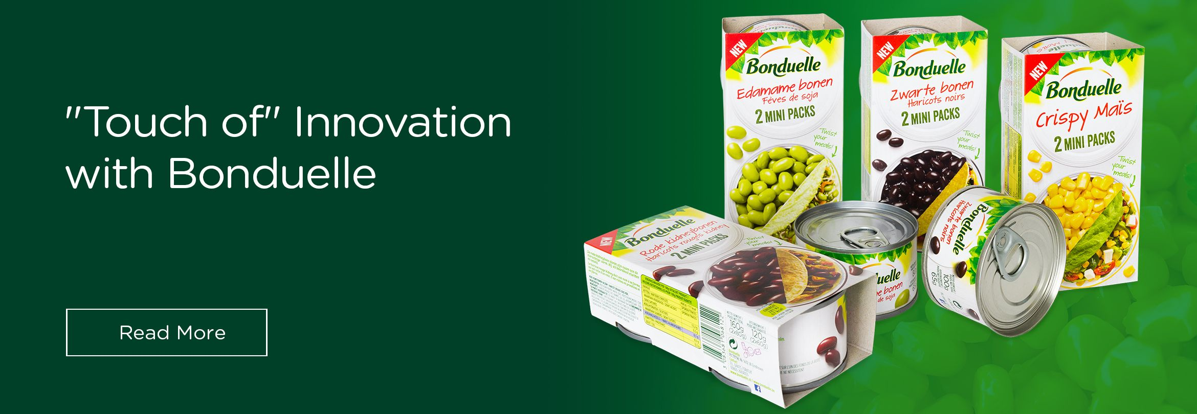 "Ardagh Group Engages in ""Touch of"" Innovation with Bonduelle"