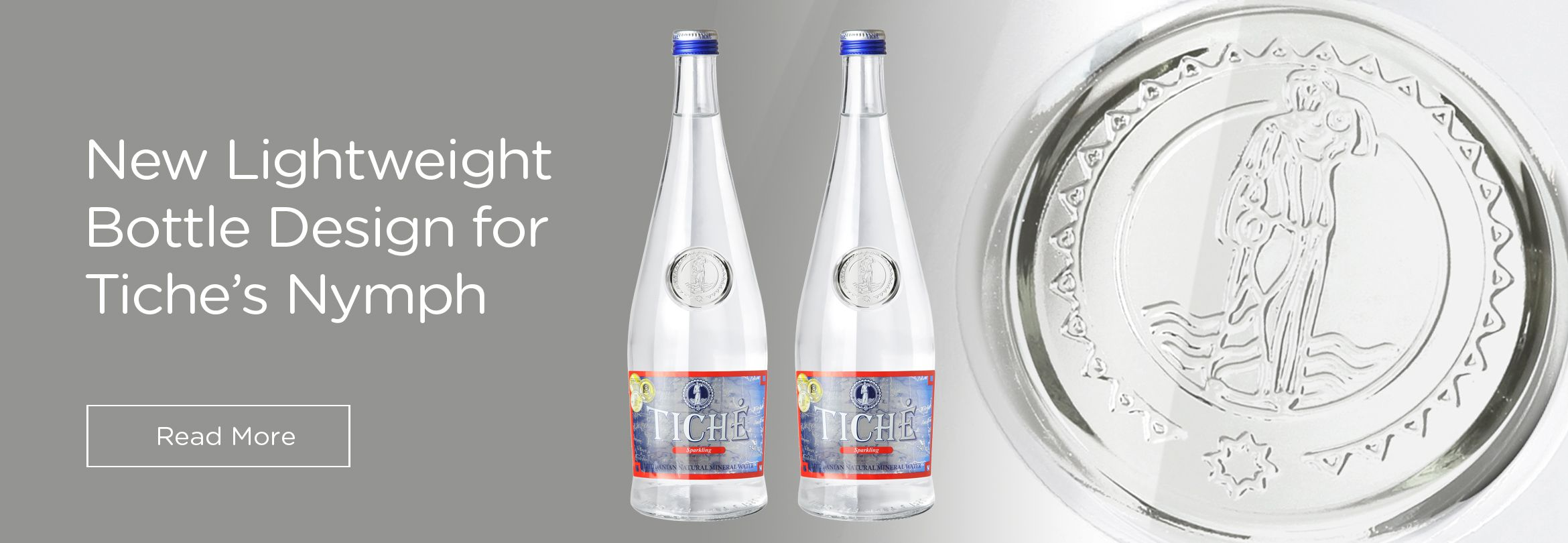 New Lightweight Bottle Design for Tiche's Nymph