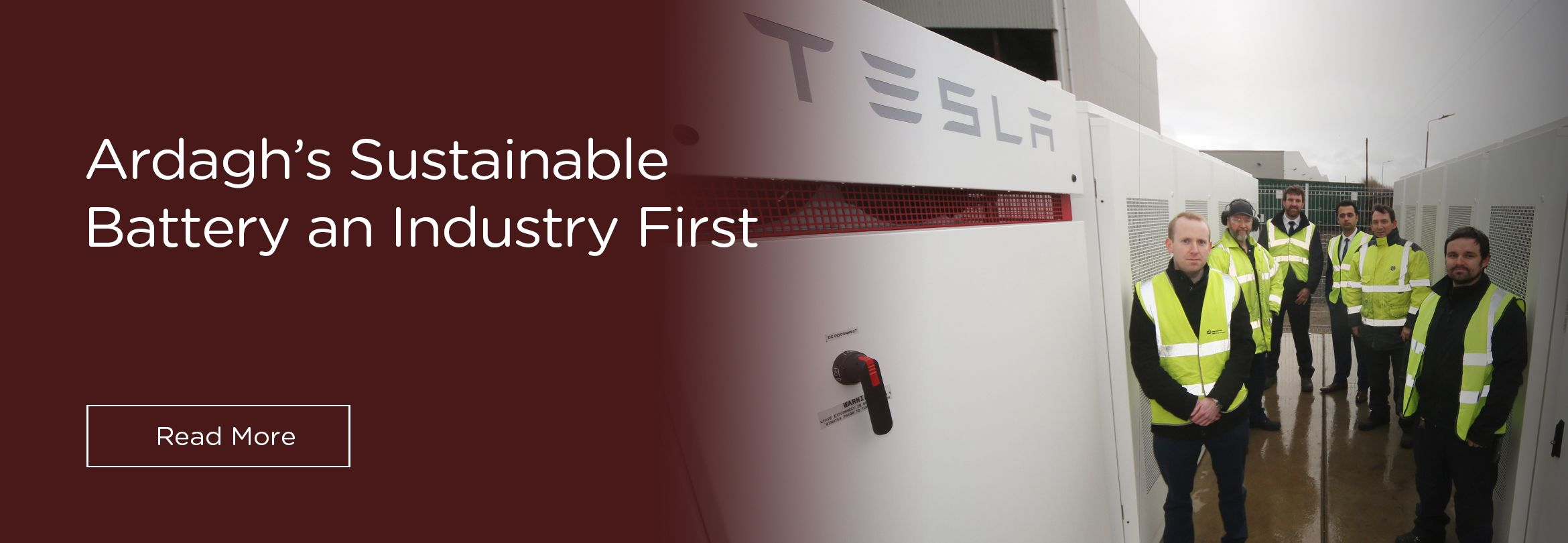 Ardagh Group Implements The Glass Industry's First Sustainable Battery Storage System