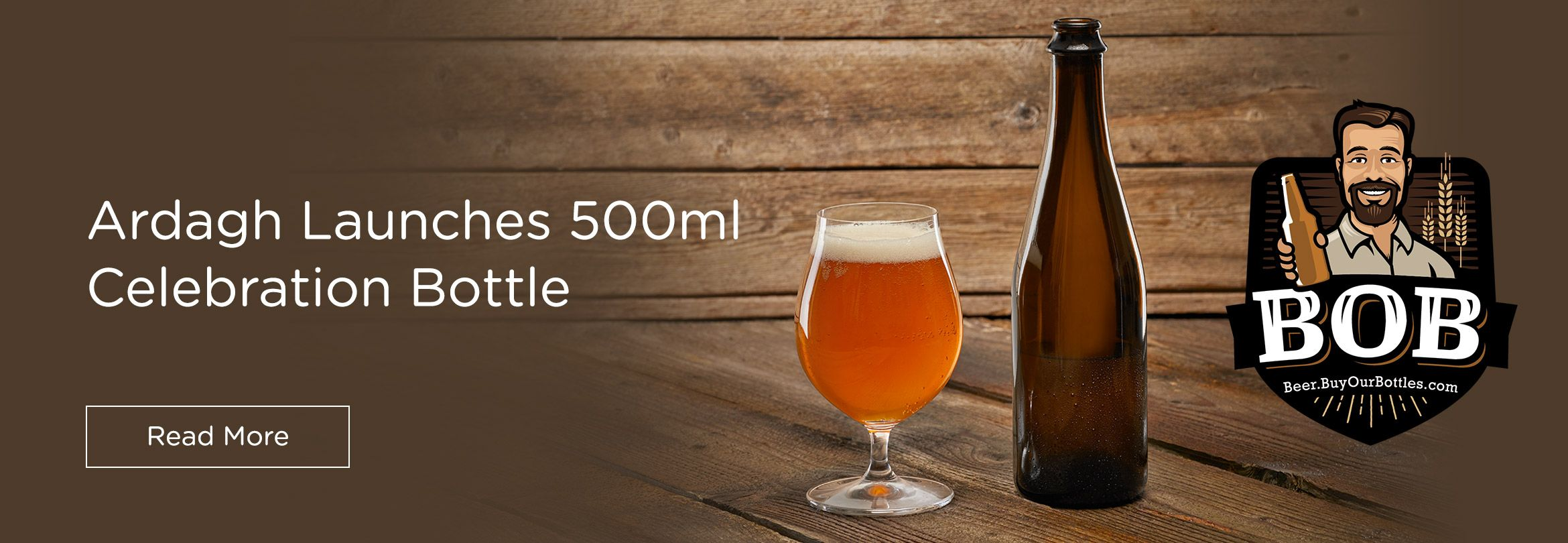 Ardagh Group Introduces 500ml Celebration Beer Bottle for Craft Brewers