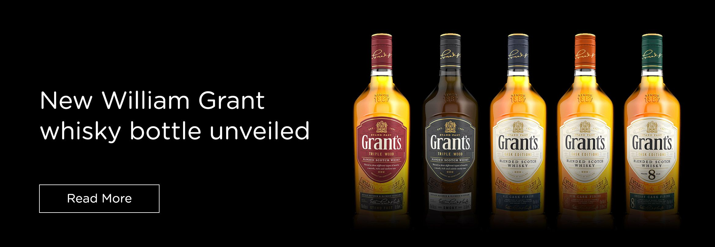 Ardagh Group unveils new William Grant whisky bottle for worldwide relaunch