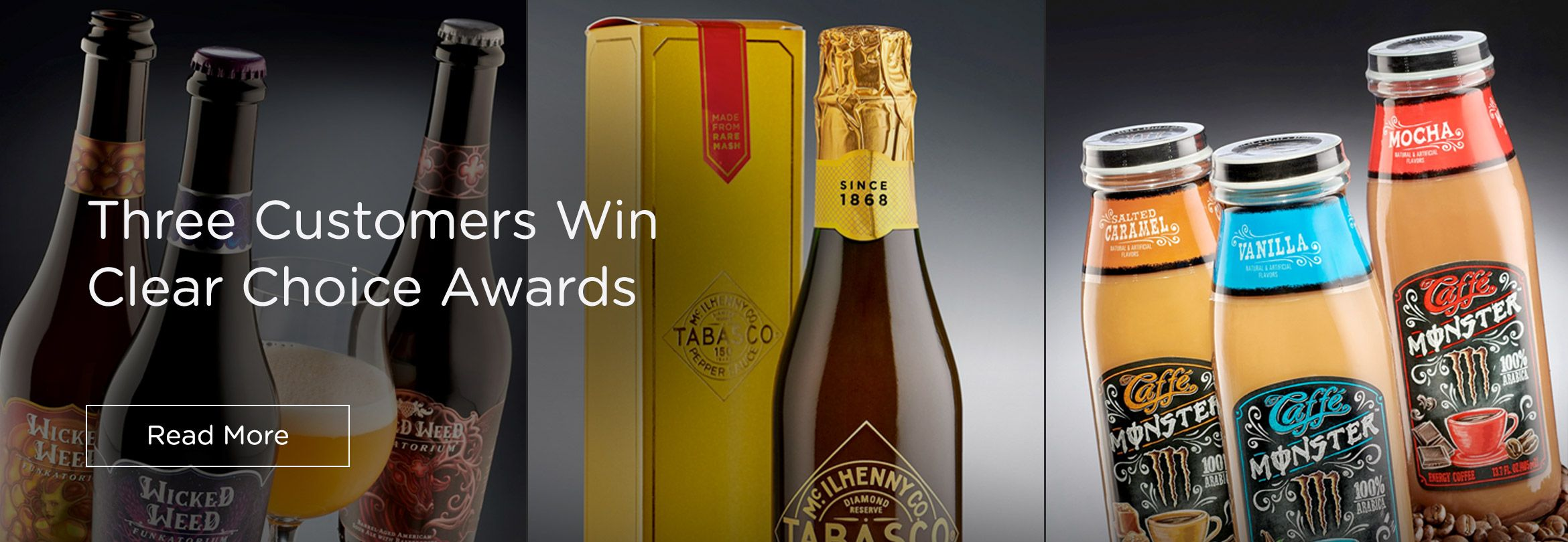 Three Ardagh Group Customers Win Clear Choice Awards