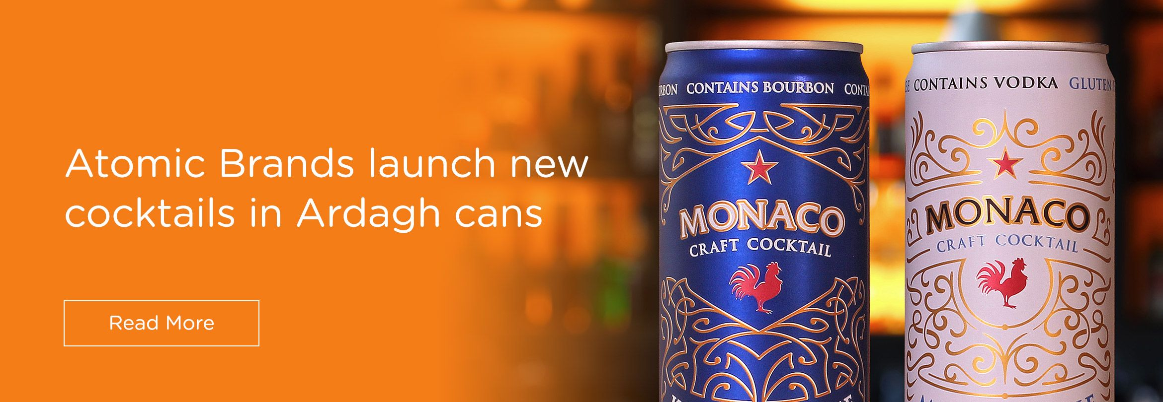 Atomic Brands launches new cocktails in Ardagh cans