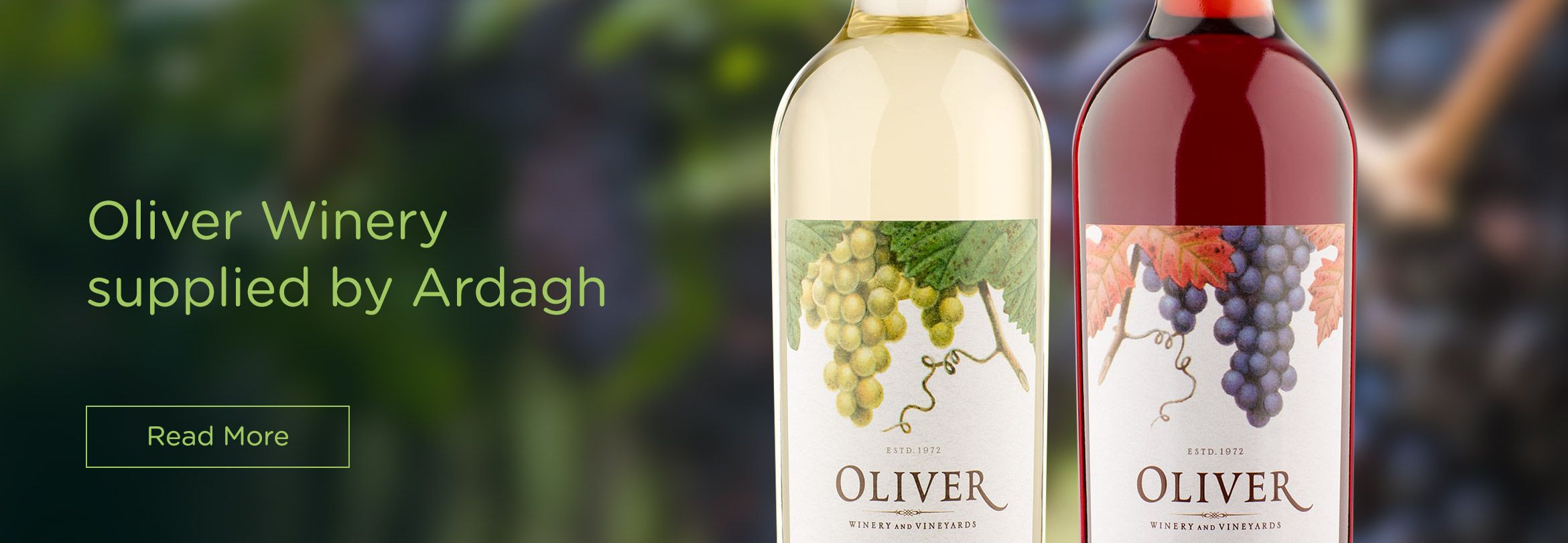 Oliver Winery Announces Agreement with Ardagh Group