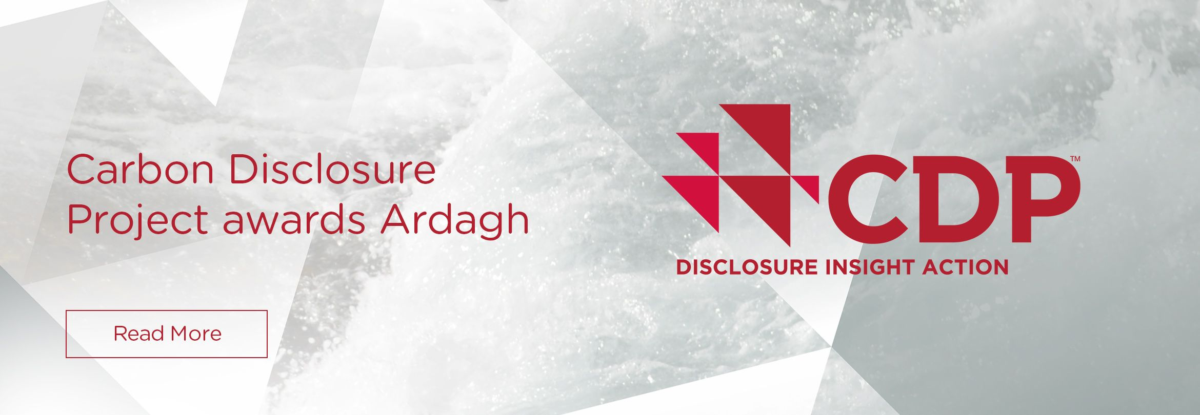Carbon Disclosure Project awards Ardagh