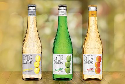 Sustainability and Distinction Are Drivers for Poland's Cider Lubelski Bottle Design