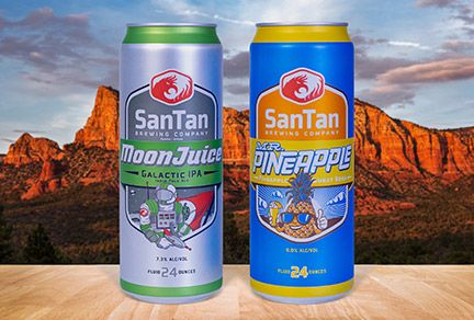 SanTan Brewing Builds Business in Ardagh Cans