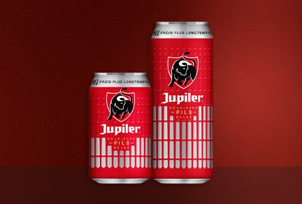 Ardagh Group's latest Jupiler design highlights the branding potential of embossed cans