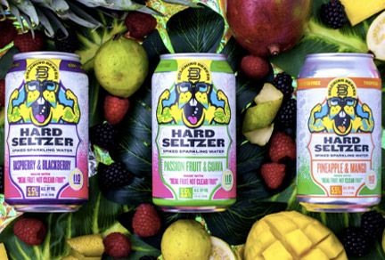 Belching Beaver launches real fruit hard seltzer in Ardagh cans