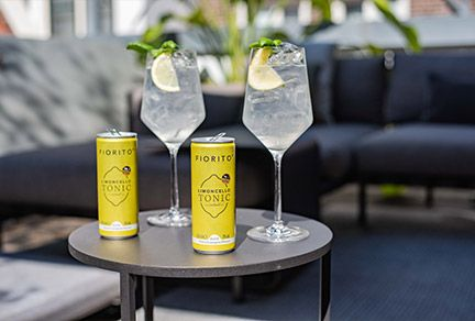 Fiorito Limoncello Tonic: looking sharp