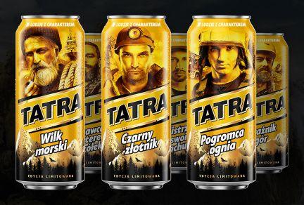 Working heroes grace special Tatra cans