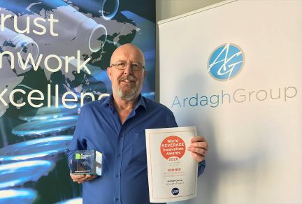 Triple win for Ardagh Briquette Project